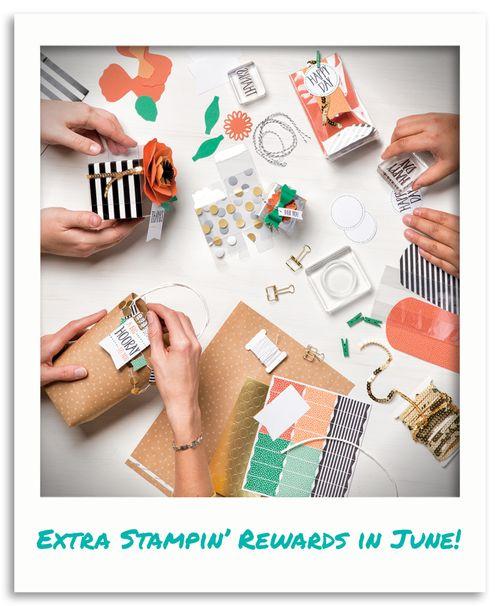 Extra Stampin Rewards
