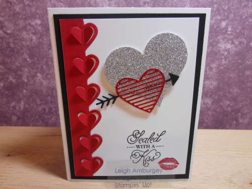 Card Buffet Sealed with a Kiss